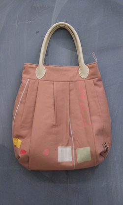 pleated tote sewing class